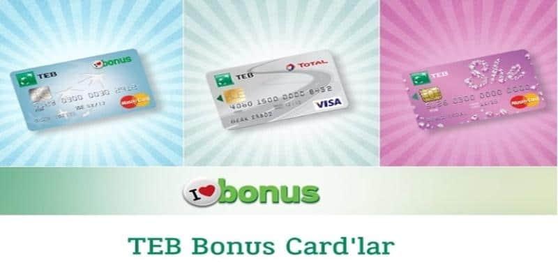 TEB bonus puanları nerede kullanılır