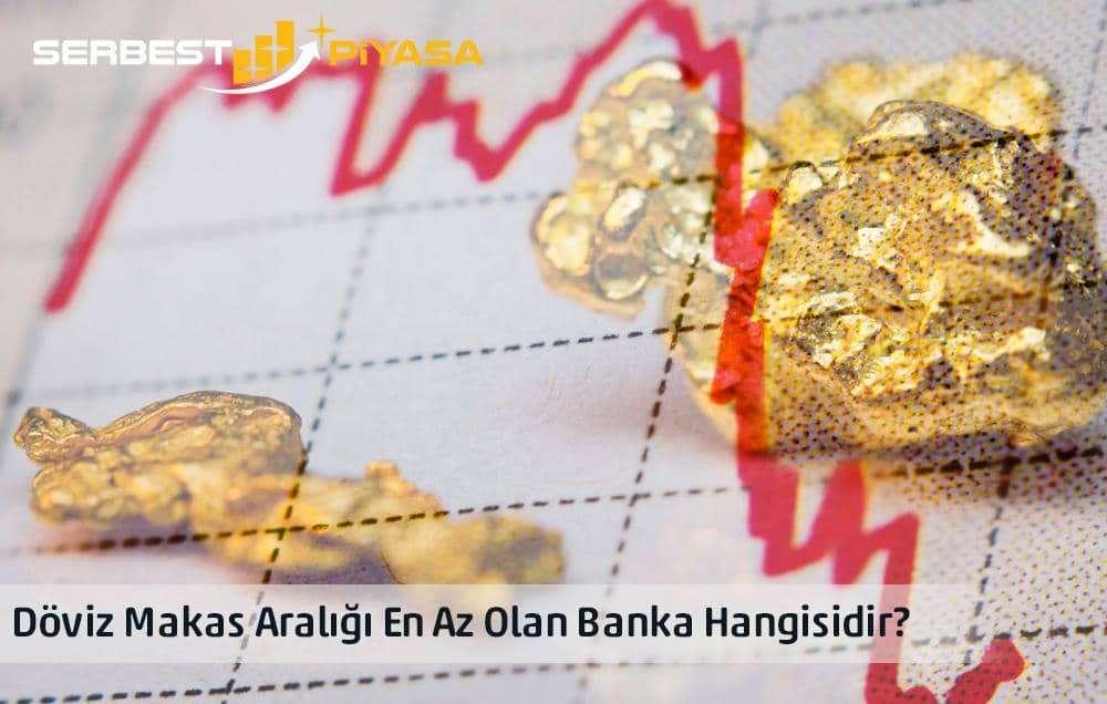 altın makas aralığı en düşük olan banka
