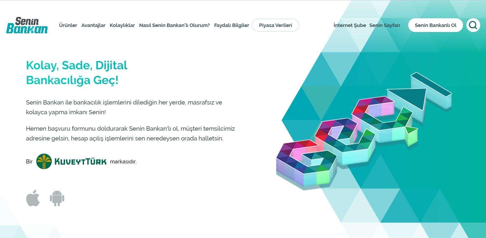 kuveyt türk internetten hesap açma