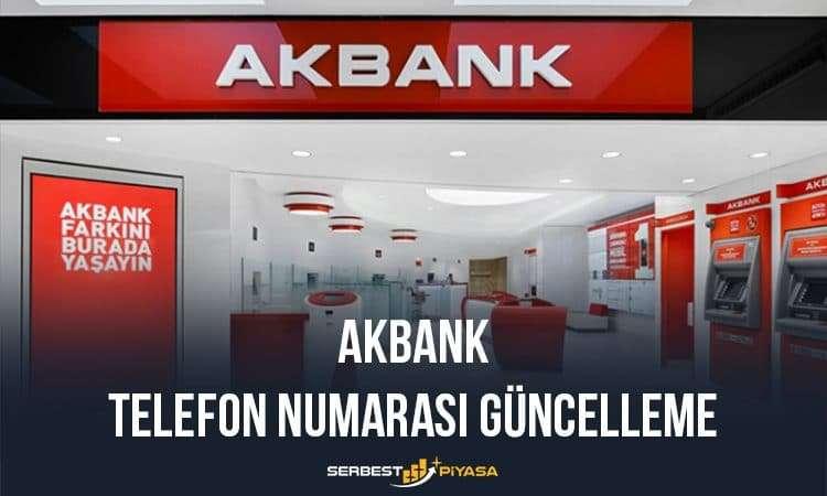 Akbank Telefon Numarası Tanımlama