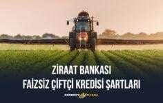 Ziraat Bankası Faizsiz Çiftçi Kredisi Şartları 2020