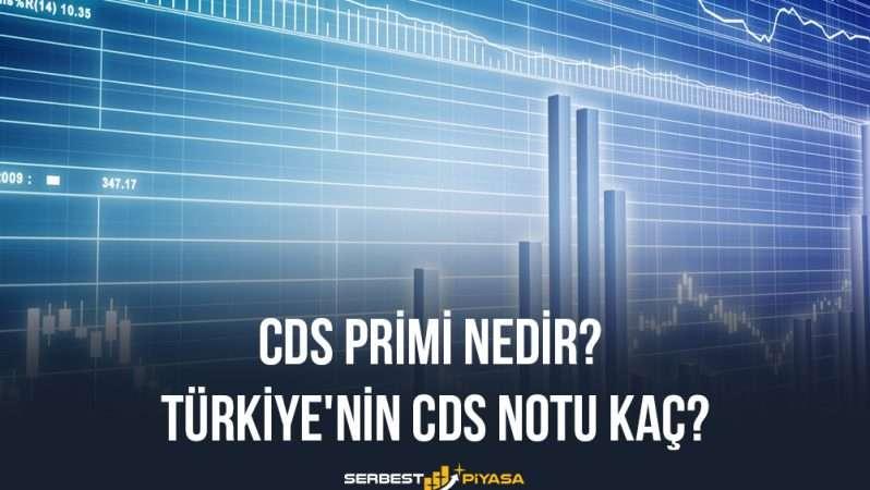 CDS Primi Nedir? Türkiye'nin CDS Notu Kaç?