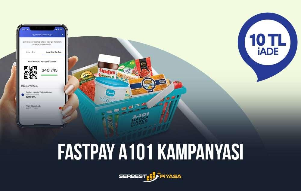 fastpay a101 kampanyası