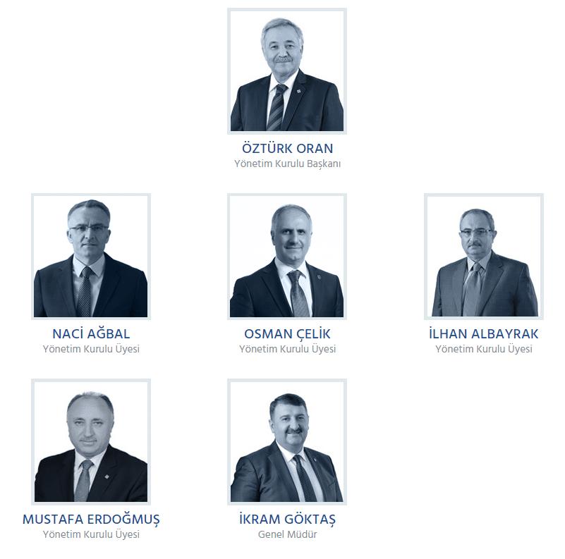 vakıf katılım bankası yönetim kurulu