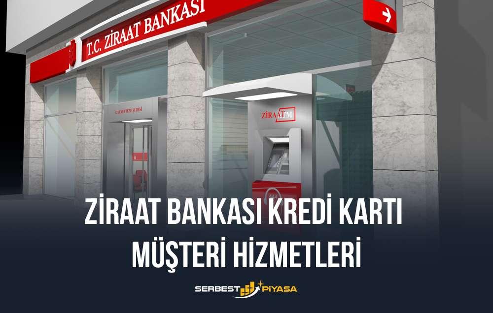 ziraat bankası kredi kartı müşteri hizmetleri