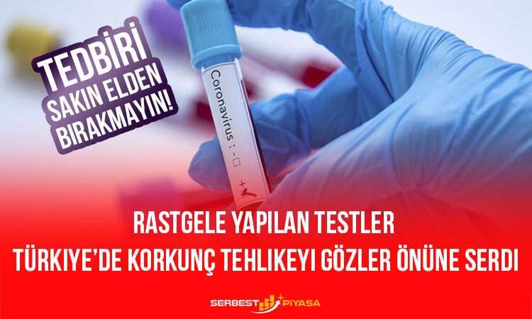 Rastgele Yapılan Testler Türkiye'de Korkunç Tehlikeyi Gözler Önüne Serdi