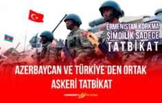 Azerbaycan Ve Türkiye'den Ortak Askeri Tatbikat