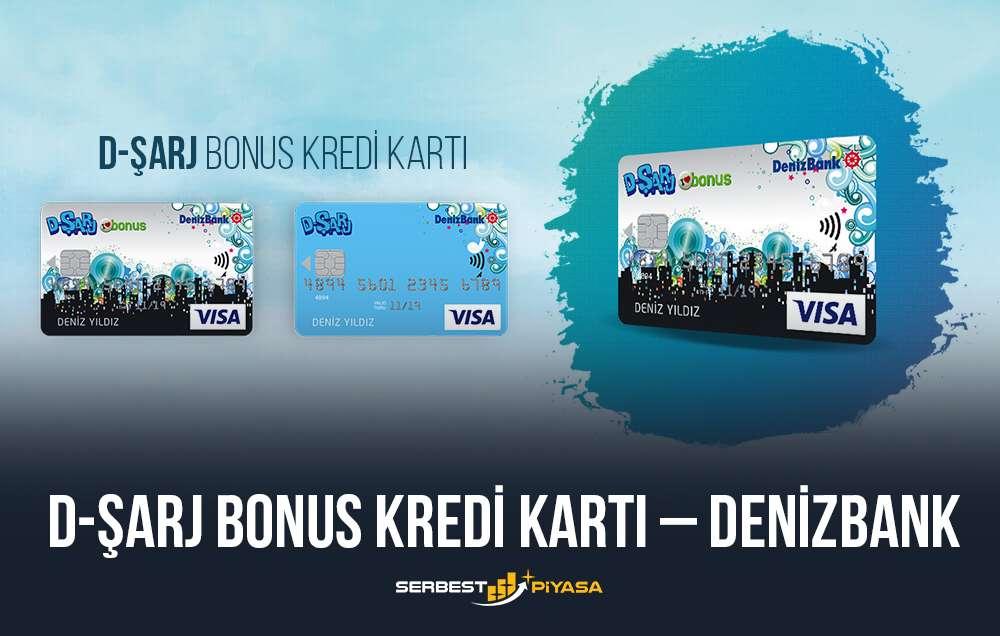 d-sarj bonus kredi kartı