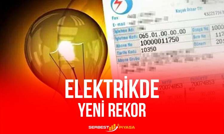 Elektrikte Bir Günde Yeni Rekor!