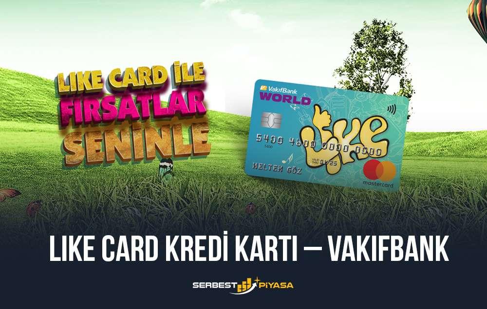 like card kredi kartı