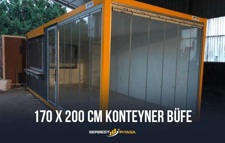 satılık konteyner büfe
