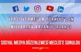 Sosyal Medya Düzenlemesi Meclis'e Sunuldu