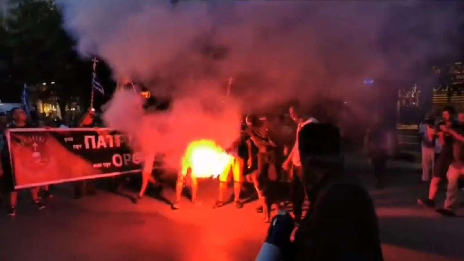 Yunanistan'da Ayasofya'nın Açılışı Protesto Edildi 1