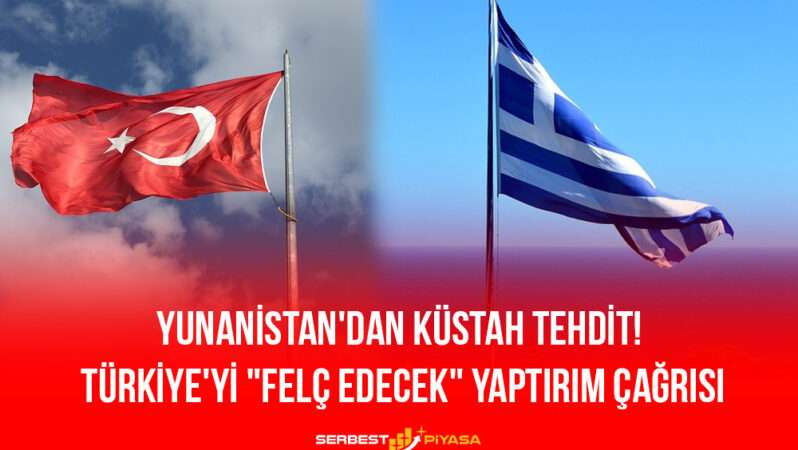 """Yunanistan'dan Küstah Tehdit! Dendias'tan Türkiye'yi """"Felç Edecek"""" Yaptırım Çağrısı"""