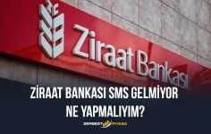Ziraat Bankası Sms Gelmiyor Ne Yapmalıyım?