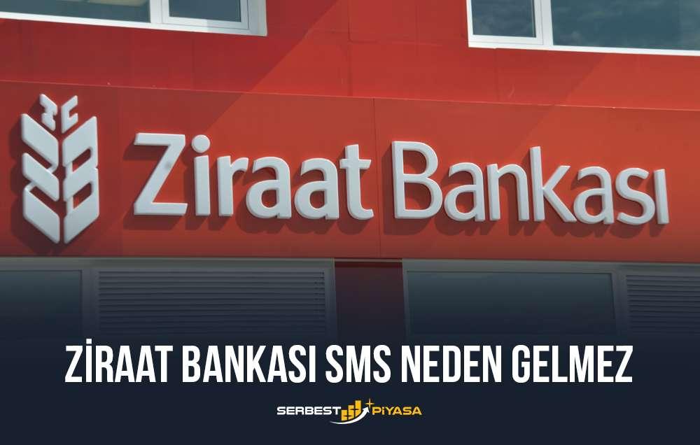 ziraat bankası sms neden gelmez