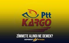 PTT Zimmete Alınan Kargo Ne Zaman Gelir? (2021)